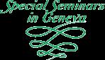 Special Seminars in Geneva